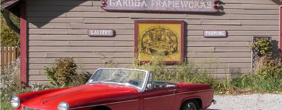 Garuda Front of Store